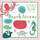 Beach Lessons poster print by Pamela J. Wingard