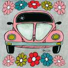 Bug - Pink poster print by Shanni Welsh
