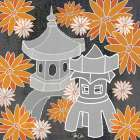 Pagoda Print I poster print by Shanni Welsh