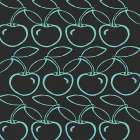 Cherry Pattern poster print by Shanni Welsh