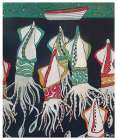 Giant Squid poster print by Shanni Welsh