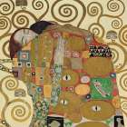 The Embrace poster print by Gustav Klimt