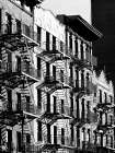 Fire Escapes in Manhattan, NYC poster print by Julian Lauren