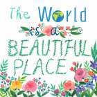 The World Is A Beautiful Place poster print by  Lings Workshop
