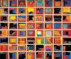 64 Abstract Paintings, Oversize poster print by Gary Max Collins