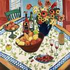 Table View poster print by Suzanne Etienne