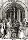 The Betrothal of The Virgin poster print by Albrecht Durer