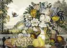Landscape, Fruit and Flowers poster print by Frances Flora Bond Palmer