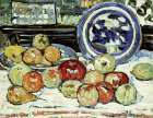 Still Life With Apples poster print by Maurice Brazil Prendergast