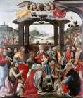 Adoration of The Magi poster print by Domenico Ghirlandaio