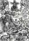 The Apocalyptic Woman poster print by Albrecht Durer