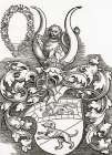 Coat Of Arms Of Lorenz Staiber poster print by Albrecht Durer