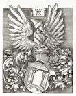 Coat Of Arms poster print by Albrecht Durer