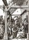 The Adoration Of The Magi poster print by Albrecht Durer