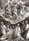 The Coronation Of The Virgin poster print by Albrecht Durer
