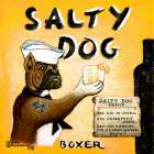 Salty Dog poster print by Janet Kruskamp