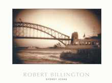 Sydney Icons poster print by Robert Billington