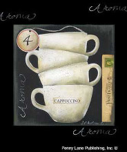 Cappuccino poster print by Jill Ankrom
