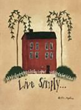 Live Simply ... poster print by Lori Maphies