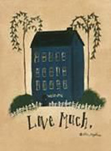 Love Much ... poster print by Lori Maphies