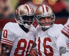 Jerry Rice / Joe Montana - Group Shot (#1) poster print by  Unknown