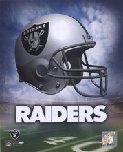 Oakland Raiders Helmet Logo poster print by  Unknown