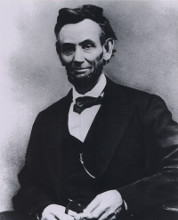 Abraham Lincoln Portrait 1865 poster print by  Unknown