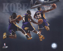 2007 - Kobe Bryant Multi Exposure poster print by  Unknown