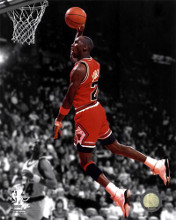 Michael Jordan 1990 Spotlight Action poster print by  Unknown