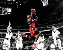 LeBron James Game 3 of the 2011 NBA Finals Spotlight Action(#20) poster print by  Unknown