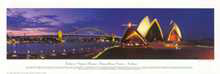 Sydney Opera House poster print by Phil Gray