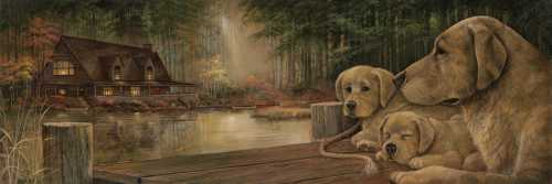 Mother Knows Best poster print by Norm Olson