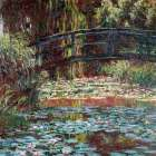 Le bassin aux nympheas a Giverny poster print by Claude Monet