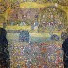 Country house on Attersee Lake poster print by  Gustav Klimt