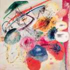 Black Lines poster print by Wassily Kandinsky