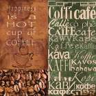 Coffee in Any Language poster print by  Lisa Wolk
