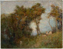 Afterglow (Summer evening) poster print by Fredrick McCubbin