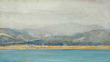 Hutt Valley poster print by Tom Roberts