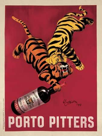 Porto Pitters poster print by Leonetto Cappiello