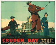 Cruden Bay poster print by Frank Newbould