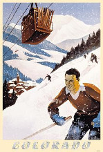 Colorado Ski Poster poster print by  Unknown