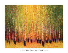Aspen Glow poster print by Gary Max Collins