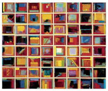 64 Abstract Paintings poster print