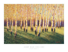 Aspen Light (Right) poster print by Gary Max Collins