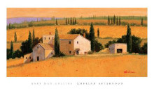 Umbrian Afternoon poster print by Gary Max Collins