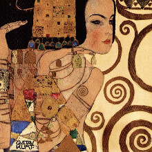 Expectation, c.1909 (detail) poster print by Gustav Klimt