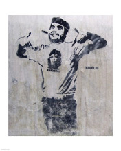 Che and Fidel, Norway poster print by  Banksy