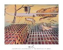 Disintegration Of Persistence poster print by Salvador Dali