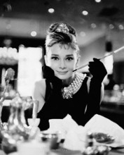 Audrey Hepburn - Breakfast At poster print