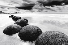 Boulders On The Beach poster print by  Unknown